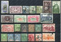 Image de Французские колонии лот 24 старинные марки / Used F-VF