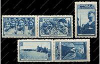 Image de Испания 193х гг. 5 марок Ассоциация дружбы с СССР / MNH OG VF / М. Горький