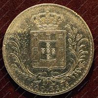 Изображение Португалия 1889г. KM# 509 / 500 рейс / XF / Серебро