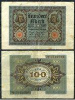 Изображение Германия 1920г. P# 69a / 100 марок / VF