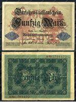 Изображение Германия 1914г. P# 49b / 50 марок / VF