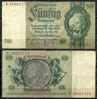 Изображение Германия 1933г. P# 182a / 50 марок / VF