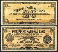 Изображение Филиппины Цебу 1941г. P# S218 / 20 песо / VF