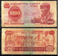 Изображение Ангола 1979г. P# 117 / 1000 кванза / F-VF