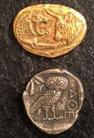 Изображение Древняя Греция и Азия лот 2 монеты-реплики