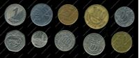 Picture of 10 different foreign coins VF-AU / lot # 1