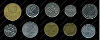 Изображение 10 разных иностранных монет / VF-AU / лот № 3
