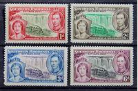 Bild von Южная Родезия 1937 г. Gb# 36-39 • Коронация • MH OG VF • полн. серия ( кат.- £5,5 )
