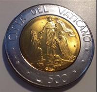 Picture of Ватикан 1990г.  KM# 225 • 500 лир •  UNC