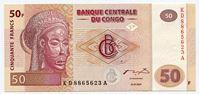 Изображение Конго  2007г.  • 50 франков •  UNC пресс