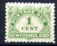 Изображение Ньюфаундленд 1939-49 гг.  SC# J1a  • 1c. служебные •   ( кат.- $8 )