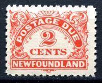 Изображение Ньюфаундленд 1939-49 гг.  SC# J2  • 2c. служебные •   ( кат.- $8 )