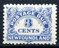 Изображение Ньюфаундленд 1939-49 гг.  SC# J3  • 3c. служебные •   ( кат.- $8 )