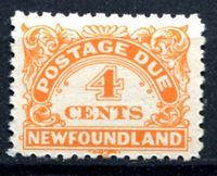 Изображение Ньюфаундленд 1939-49 гг.  SC# J4a  • 4c. служебные •   ( кат.- $15 )