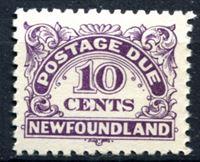 Изображение Ньюфаундленд 1939-49 гг.  SC# J6  • 10c. служебные •   ( кат.- $7 )