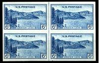 Bild von США 1935 г. SC# 760 • 6c. Виды Америки Орегон • Mint NG • кв.блок