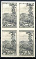 Bild von США 1935 г. SC# 765 • 10c. Виды Америки Сев. Каролина • Mint NG • кв.блок