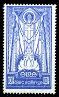 Picture of Ирландия 1940-68 гг.  Gb# 125  • 10sh. св. Патрик •  MLH OG VF-XF ( кат.- £60 )