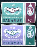 Picture of Багамы 1965г. Gb# 265-6 • Год кооперации • MNH OG XF • полн. серия