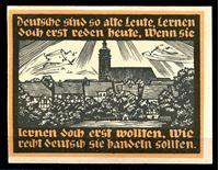 Image de Германия    Гентин  1921г.  • 5 марок. Городской вид(Ратуша).. •  UNC пресс