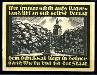 Image de Германия    Гентин  1921г.  • 2 марки. Обелиск в парке. •  UNC пресс