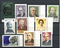 Bild von СССР  1977-81 гг.  • Известные люди. лот 10 марок •  MNH OG VF