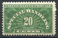 Bild von США 1925-28 гг.  SC# QE3  • 20 c. спец. доставка •  MNH OG XF ( кат.- $8 )