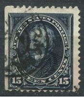 Picture of США 1894 г. SC# 259 • 15 c. Генри Клей • Used F ( кат.- $75 )