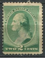 Image de США 1887г. SC# 213  • 2 c. Джордж Вашингтон •  Mint NG VG ( кат.- $45 )