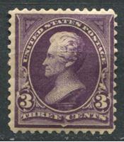 Image de США 1895г. SC# 268  • 3 c. Эндрю Джексон •  MH OG VG ( кат.- $40 )