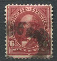 Image de США 1897-1903 гг.  SC# 282a  • 6 c. Джеймс Гарфилд •  Used F