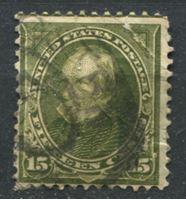Image de США 1897-1903 гг.  SC# 284  • 15 c.  Генри Клей •  Used F