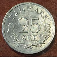 Изображение Дания 1962 г. • KM# 850 • 25 оре • MS BU ( кат.- $8,00 )