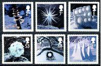 Изображение Великобритания 2003г. SC# 2165-70 • Рождество • MNH OG VF