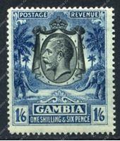 Изображение Гамбия 1922-7гг. SC# 113 • 1s.6d. слоны • MH OG F-VF