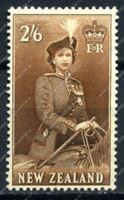 Изображение Новая Зеландия 1953-7гг. SC# 298B • 2s.6p. • MH OG F-VF (кат. - $25.00)