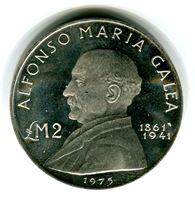 Изображение Мальта 1975 г. • 2 фунта • MS BU