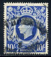 Picture of Великобритания 1939-48 гг. Gb# 478a • 10 sh. Георг VI • Used VF ( кат.- £5 )