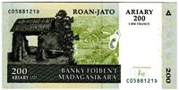 Picture of Мадагаскар  2004г.  • 200 ариари •  UNC пресс
