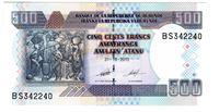 Изображение Бурунди  2013г.  • 500 франков •  UNC пресс