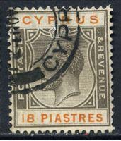 Bild von Кипр 1924-28 гг.  Gb# 112  • 6pi. Король Георг V •  Used VF ( кат.- £9 )