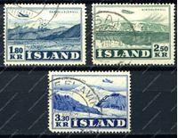 Picture of Исландия 1952г. SC# C27-9 • авиапочта • Used VF • самолеты • кат.-$25.00