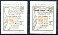 Picture of Эстония 1993г. SC# 260+260a • 2 блока • Used VF ( кат. - €20 )