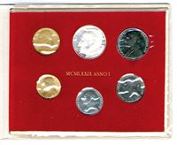 Bild von Ватикан 1979г. Y# 143-8 • Годовой набор. 6 монет • MS BU