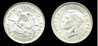 Image de Новая Зеландия 1943г. KM# 9 • 1 шиллинг серебро • MS BU GEM!! (кат - $100+)