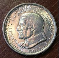 """Bild von США 1936г. KM# 177 • 50 центов """"Кливленд"""" • MS BU"""