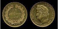 Image de Франция 1834г. A KM# 747.1 • 40 франков • золото-900 12.9гр. • XF