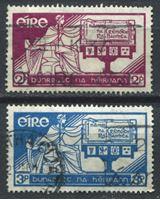 Изображение Ирландия 1937 г. SC# 99-100 • День Конституции • Used VF • полн. серия ( кат.- $8 )