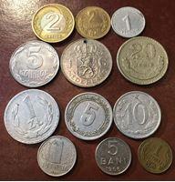 Изображение Иностранные монеты  • 12 разных •  F-XF