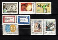 Picture of Аргентина 1978  • 8 марок Аргентины •  MLH OG VF